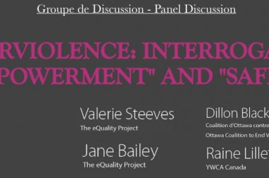 Special Lecture: Cyberviolence: Interrogating 'Empowerment' & 'Safety'