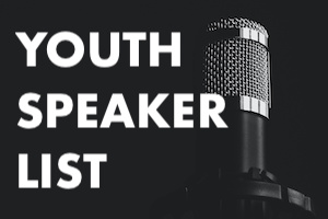Youth Speakers List